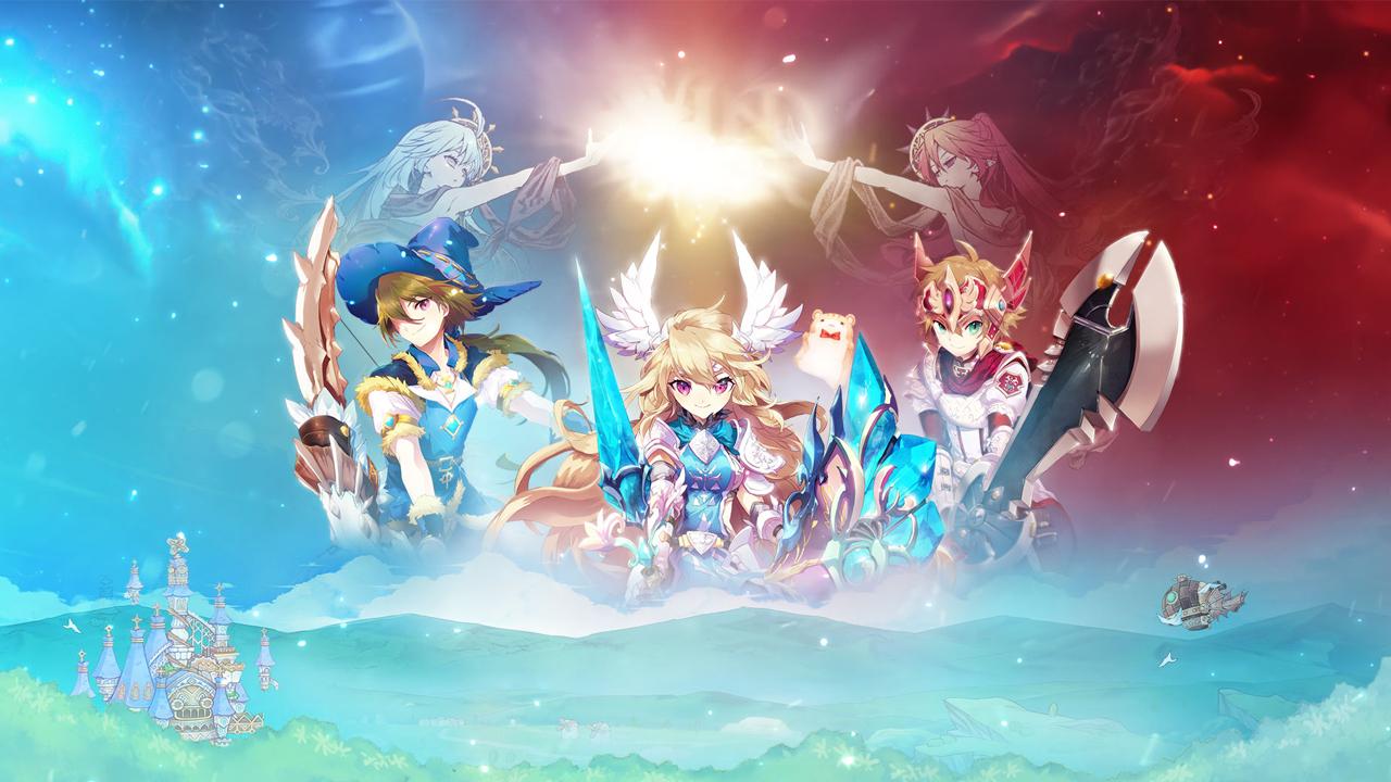 Photo de Twin Saga: La grande famille anime.