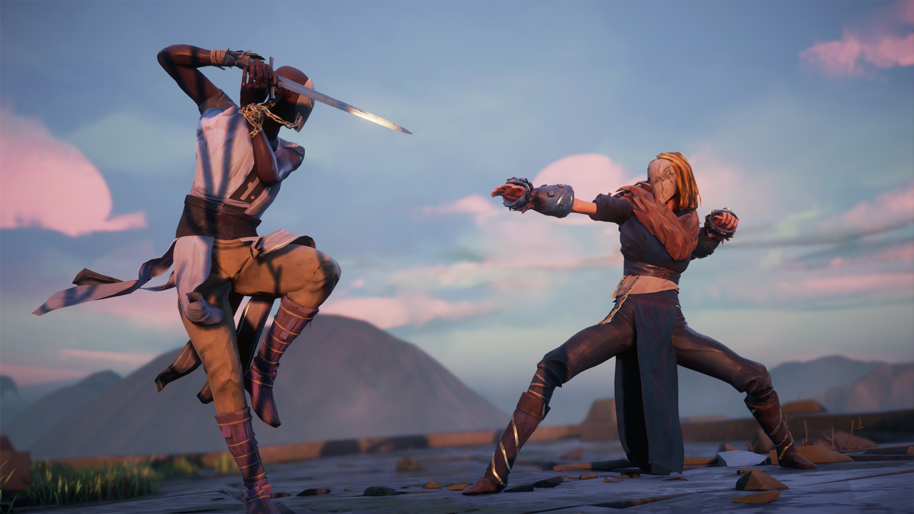 Photo de Absolver : Un jeu de baston en ligne.